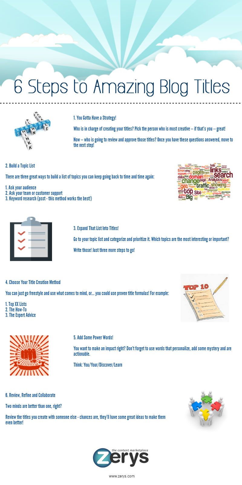 6 Steps to Create Winning Titles