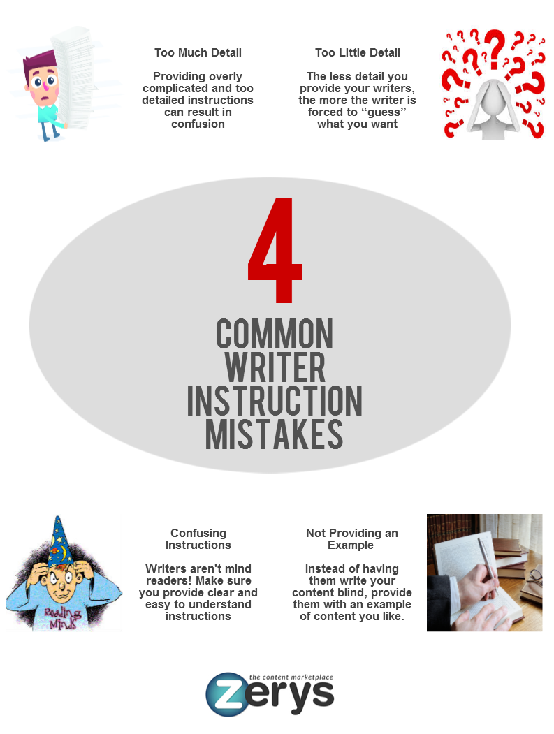 4 Writer Instruction Mistakes