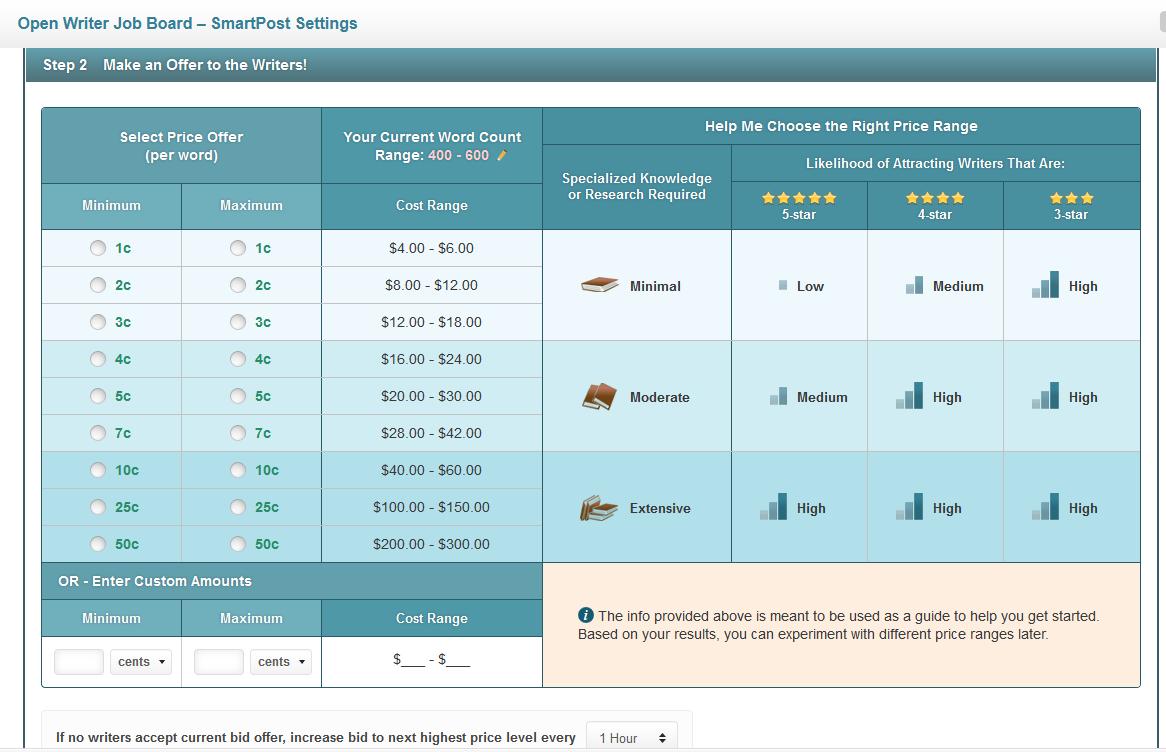 SmartPost Pricing