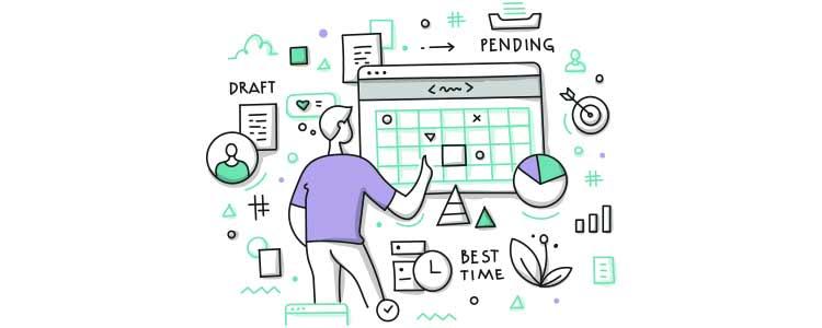 content planning - content calendar