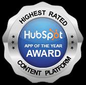 HubSpot App of The Year Award