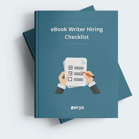 eBook Writer Hiring Checklist