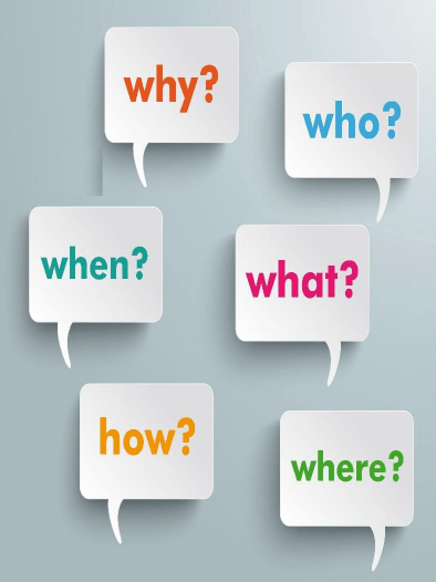 Who, What, Where, When, Why, How