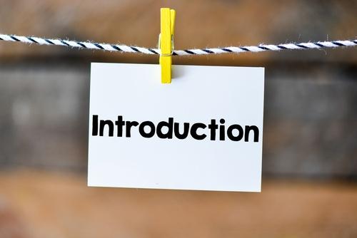blog content - Blog Post Introduction