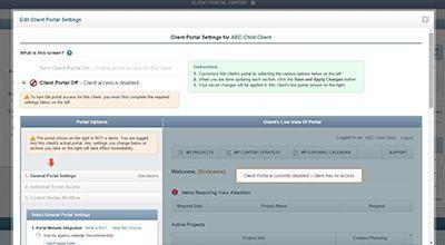 Create Custom Portal for Each Client