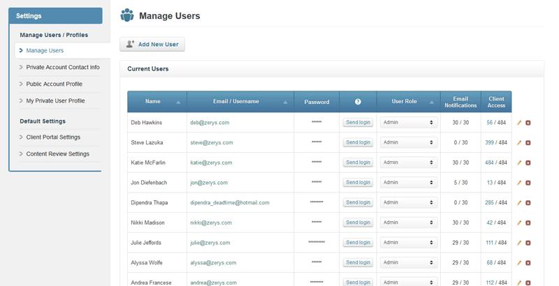 Create Unlimited Agency User Logins